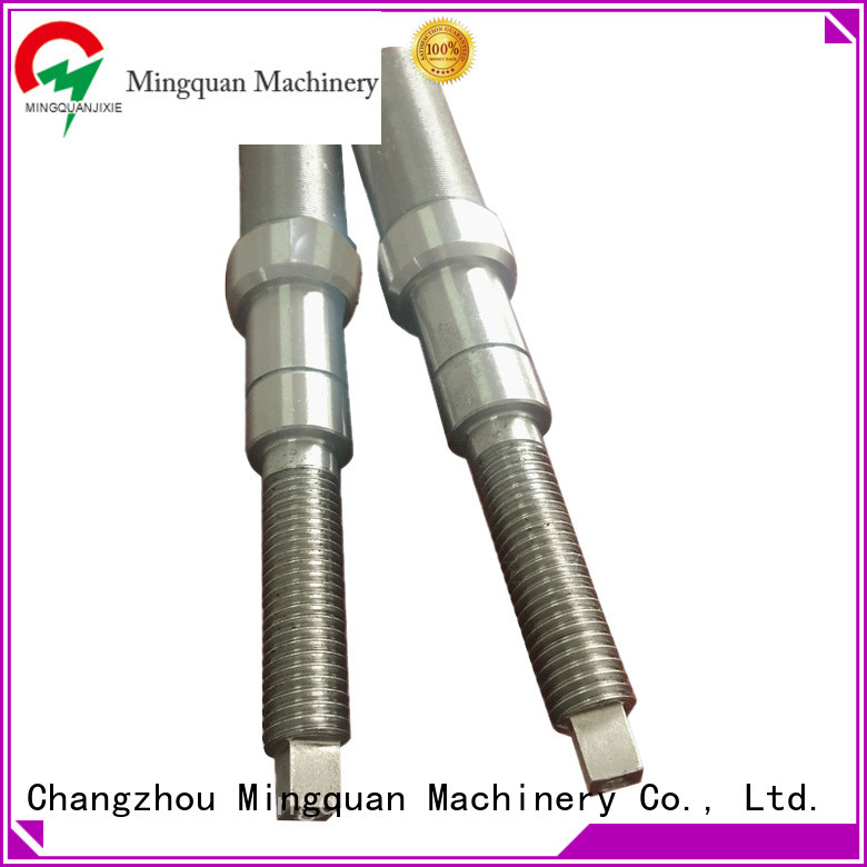 Mingquan Machinery customized 316 stainless steel shaft for workplace