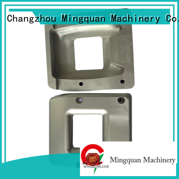 Mingquan Machinery aluminum machined parts series for factory