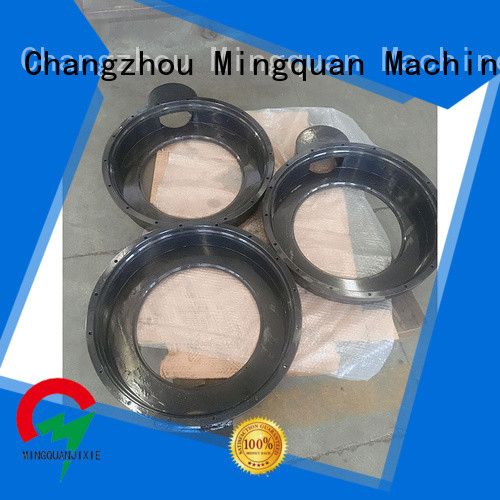 precision steel pipe flange supplier for plant Mingquan Machinery