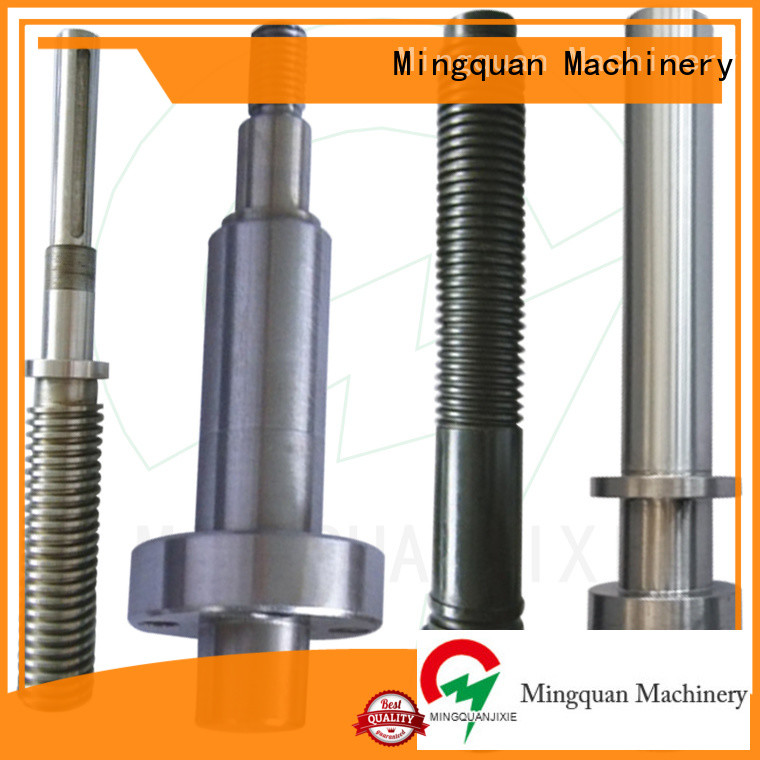 Mingquan Machinery precise odm cnc maching parts supplier for plant