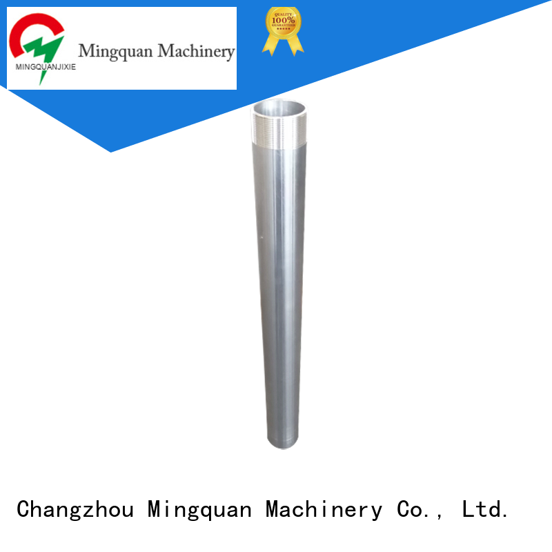 Mingquan Machinery custom machining shaft parts directly price for workshop