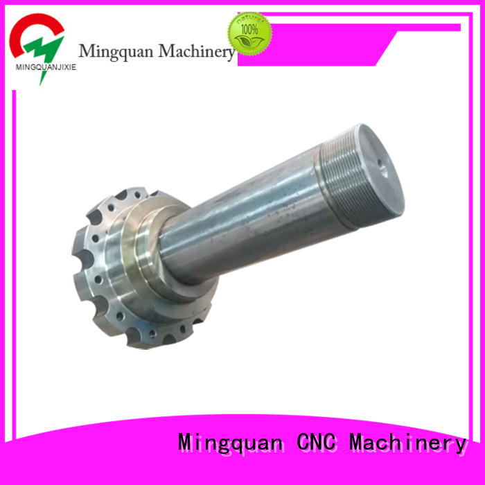 Mingquan Machinery precise custom machining shaft parts manufacturer for factory