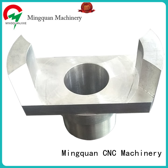 Mingquan Machinery aluminum machined parts factory price for CNC machine