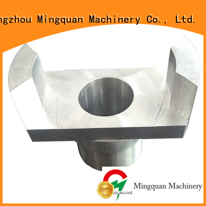 Mingquan Machinery Oem precision machined parts china factory price for CNC milling