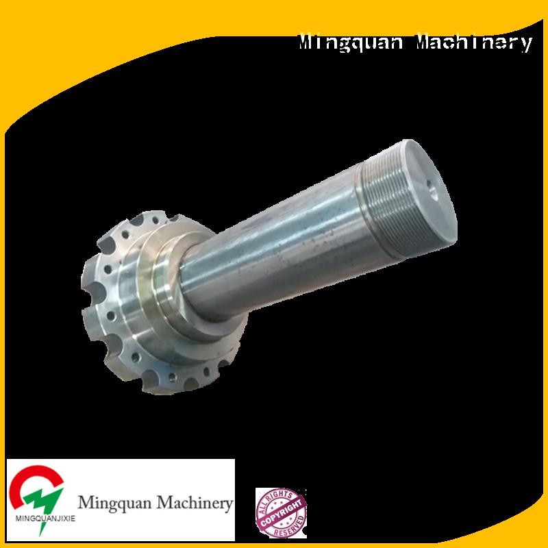 Mingquan Machinery custom machining shaft parts bulk buy for workplace
