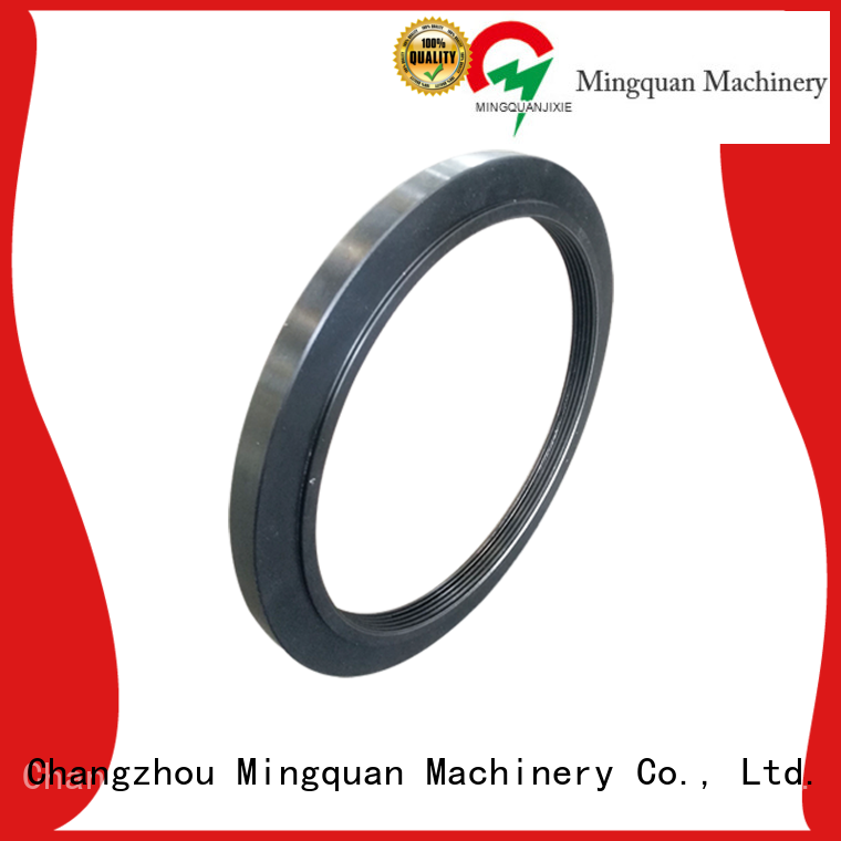 Mingquan Machinery good quality custom machined aluminum parts factory price for machine