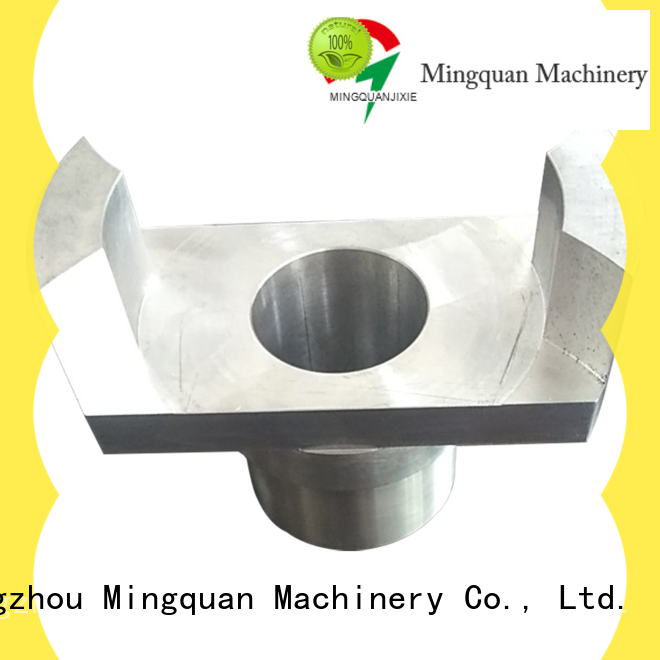 Mingquan Machinery aluminum machined parts online for factory